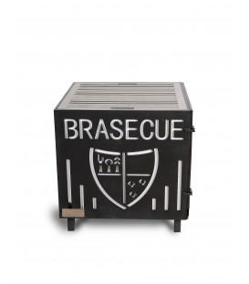 Le Brasecue 026 Votre Blason inox émaillé