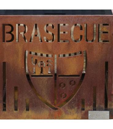 Le Brasecue 017 en Corten