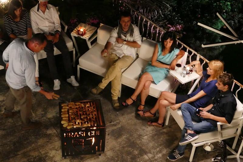feu de camp, sièges haut de gamme, confort outdoor indoor, solidité,